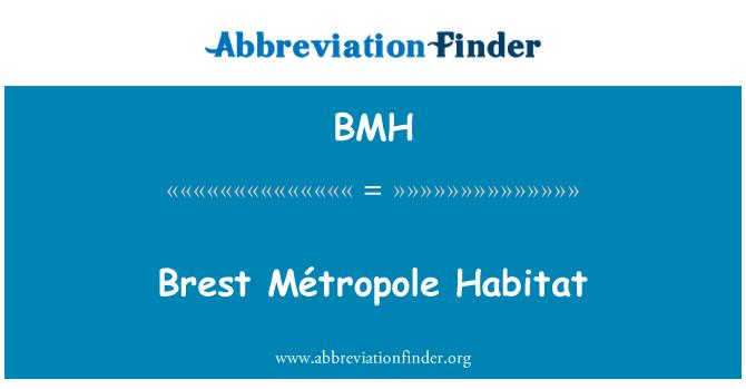 BMH: Brest Métropole Habitat