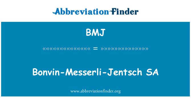 BMJ: Bonvin-Messerli-Jentsch SA