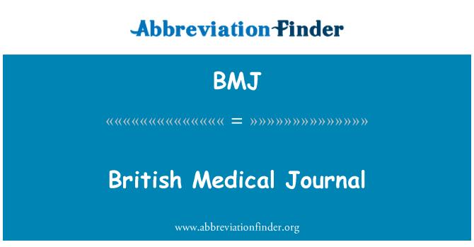 BMJ: British Medical Journal