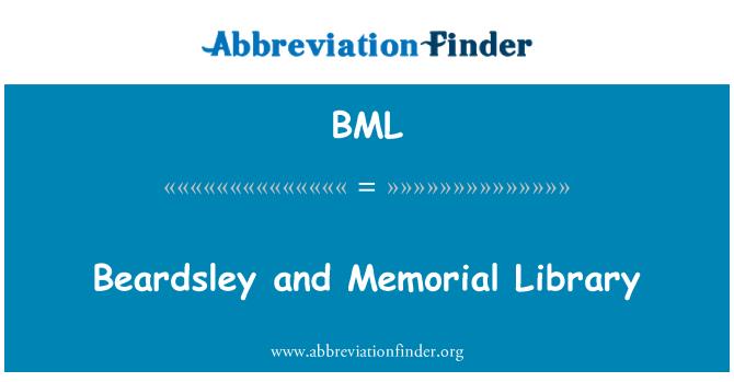 BML: Beardsley and Memorial Library