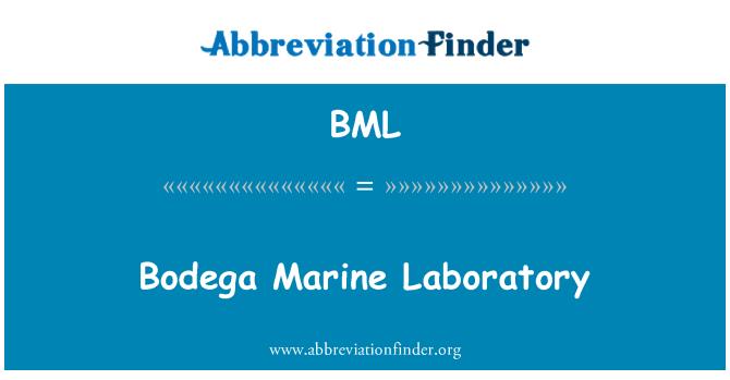 BML: Bodega Marine Laboratory