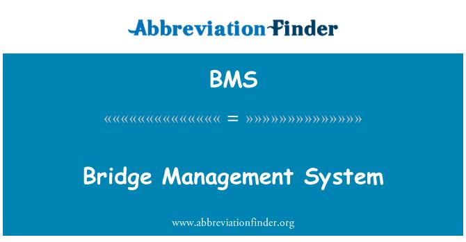 BMS: Bridge Management System