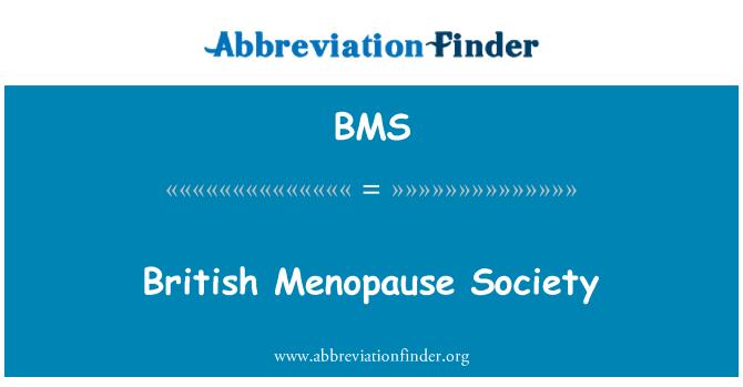 BMS: British Menopause Society