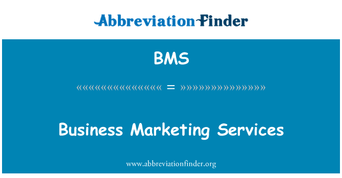 BMS: Business Marketing Services