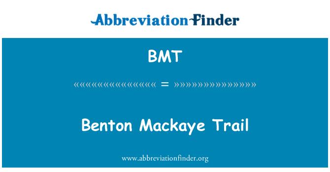 BMT: Benton Mackaye Trail