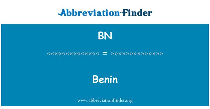 BN: Benin