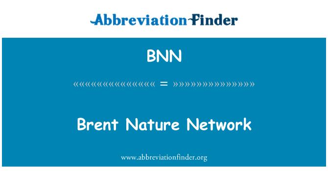 BNN: Brent Nature Network