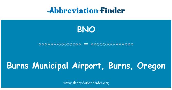 BNO: Burns Municipal Airport, Burns, Oregon