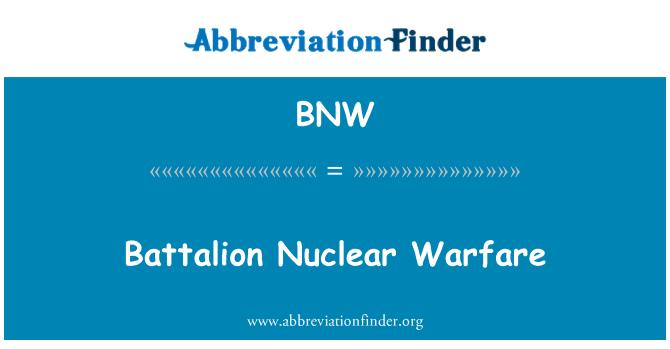 BNW: Battalion Nuclear Warfare