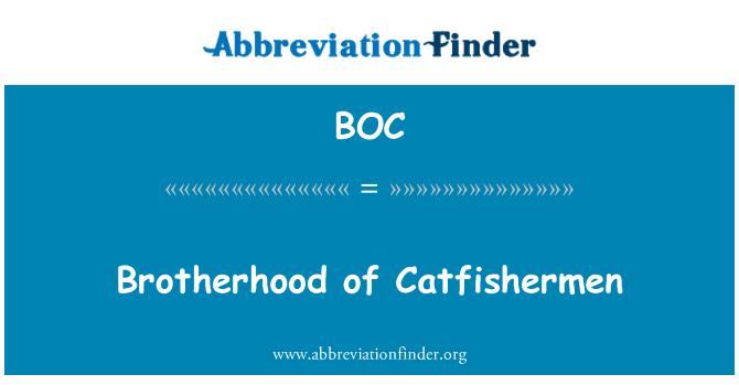 BOC: Brotherhood of Catfishermen