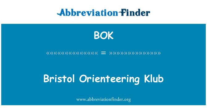 BOK: Bristol Orienteering Klub