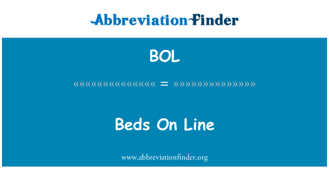 BOL: Beds On Line
