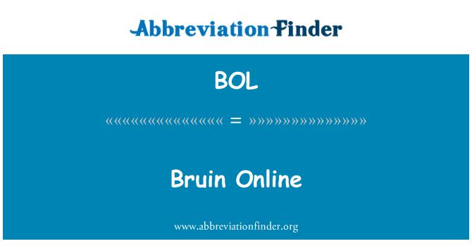 BOL: Bruin Online
