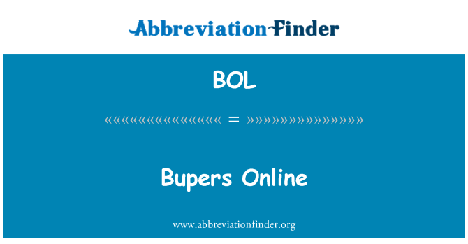 BOL: Bupers Online