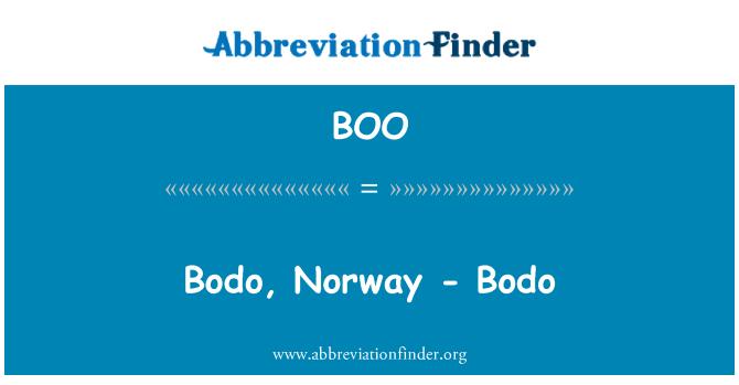 BOO: Bodo, Norway - Bodo