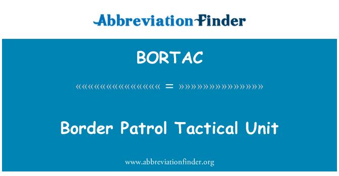 BORTAC: Border Patrol Tactical Unit