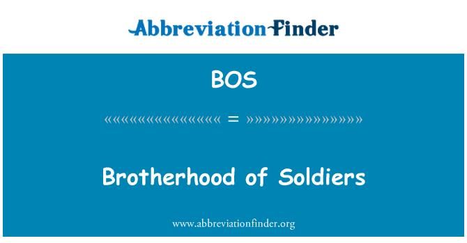 BOS: Brotherhood of Soldiers