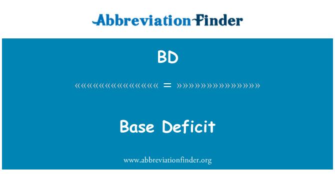 BD: Baasi eelarvepuudujäägi