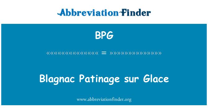 BPG: Blagnac Patinage sur Glace