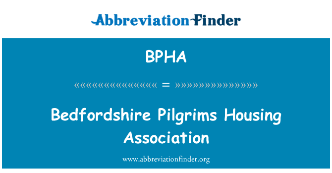 BPHA: Bedfordshire Pilgrims Housing Association