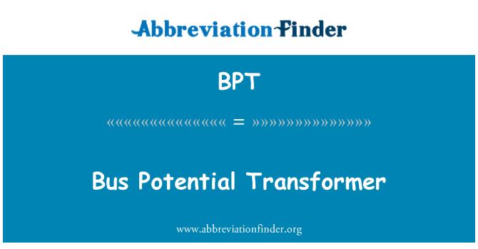 BPT: Bus Potential Transformer