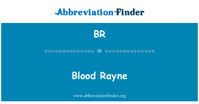 BR: Blood Rayne