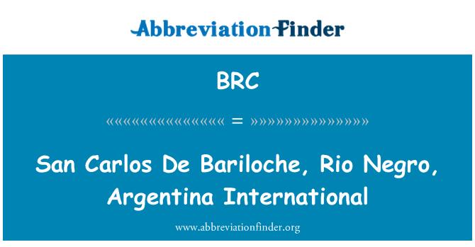 BRC: San Carlos De Bariloche, Rio Negro, Argentina International