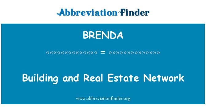 BRENDA: רשת נדל ן ובנייה