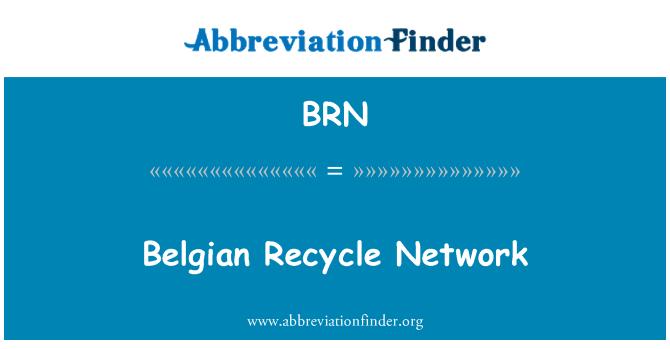 BRN: Belgian Recycle Network