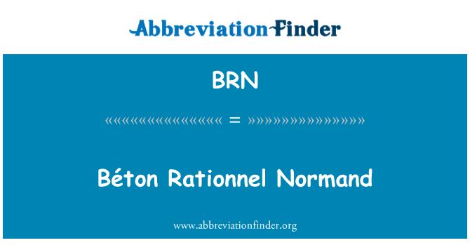 BRN: Béton Rationnel Normand