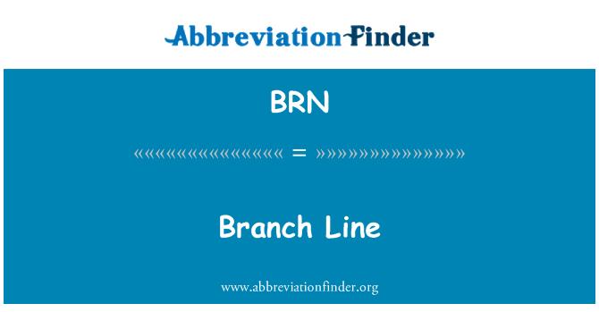 BRN: Branch Line