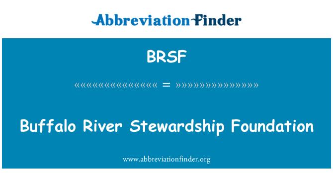 BRSF: Buffalo River Stewardship Foundation