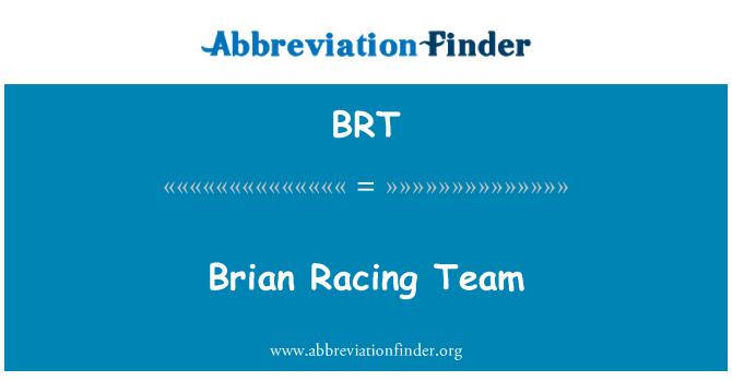 BRT: Brian Racing Team