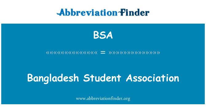 BSA: Bangladesh Student Association