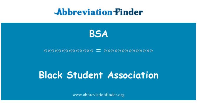BSA: Black Student Association