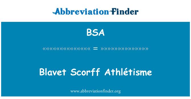 BSA: Blavet Scorff Athlétisme