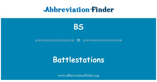 BS: Battlestations