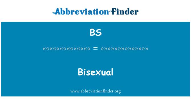 BS: Bisexual