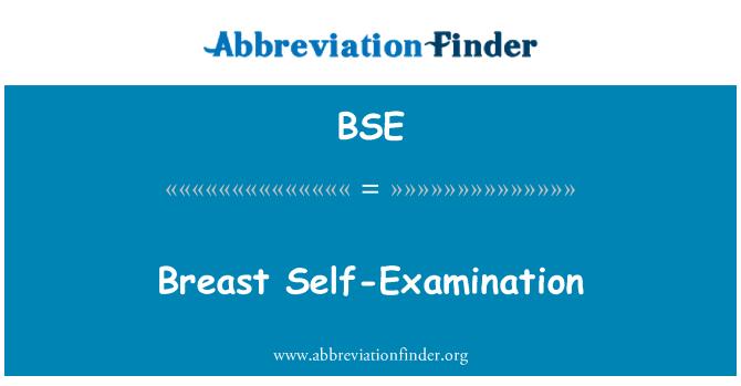 BSE: Breast Self-Examination