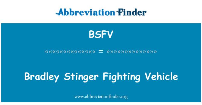 BSFV: Bradley Stinger võitlevad sõiduki