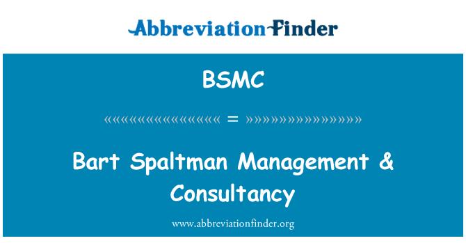 BSMC: Bart Spaltman valdymo & konsultavimo