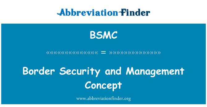 BSMC: Pasienio apsaugos ir valdymo koncepcija