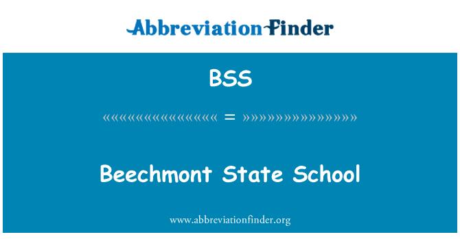 BSS: Beechmont State School