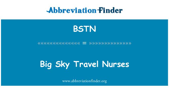 BSTN: Big Sky Travel Nurses