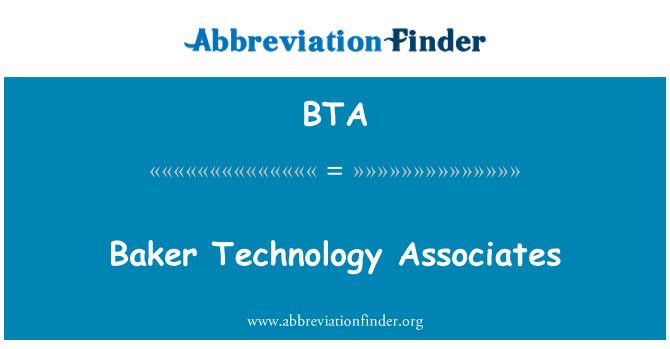 BTA: Baker Technology Associates