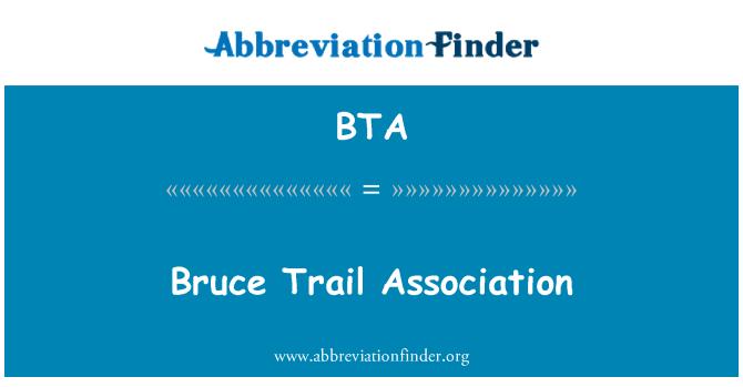 BTA: Bruce Trail Association