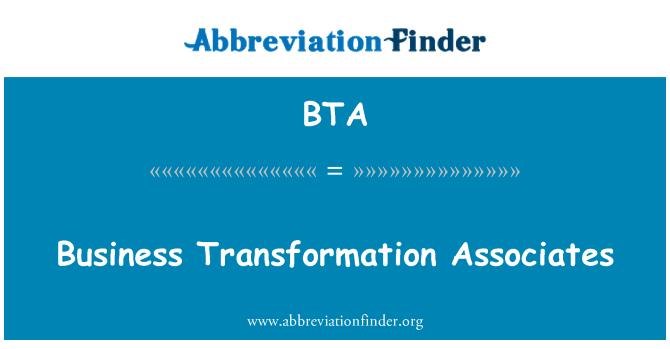 BTA: Business Transformation Associates