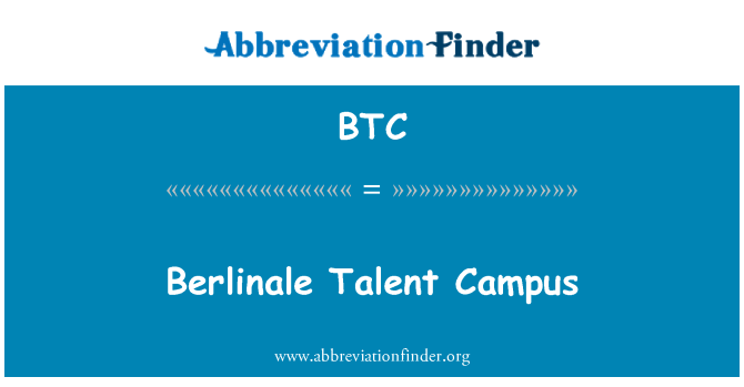 BTC: Berlinale Talent Campus