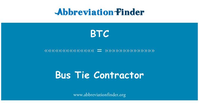 BTC: Bus Tie Contractor