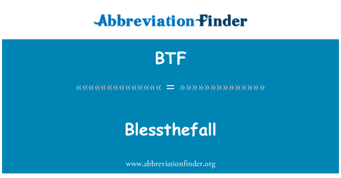 BTF: Blessthefall